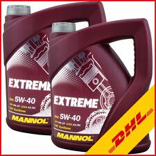 10 Liter 5W-40 Motoröl Leichtlauf Motorenöl Mannol Extreme für MB 226.5 VW50500