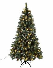 RRP £79.99 ! Home 7ft Pre-lit Christmas Tree Green