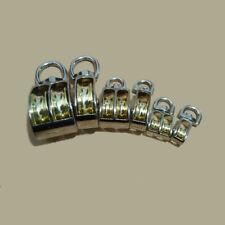 1pcs Metal Swivel Pulley Sheave Rigging Lift Hoist Rope Hanging Lifting Wheel