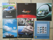 Collectibles Double Pages Breweriana, Beer Publicite Advertising 014 1981 Renault 9 Macadam Star