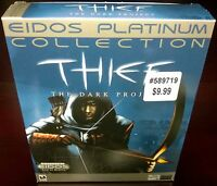 Thief: The Dark Project - Platinum Collection, EIDOS (PC, 1998) CIB