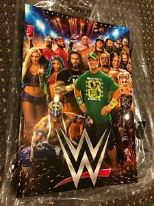 WWE 2021 Official Program Brand New John Cena Roman Reigns Alexa Bliss WWF NXT