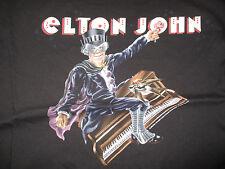 "2008 Elton John ""Rocket Man - Definitive Hits"" Canada Tour Concert (Lg) T-Shirt"
