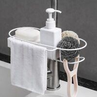Home Kitchen&Bathroom Faucet Sink Sponge Hanging Tap Storage  Holder Drain Rack