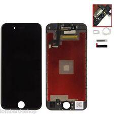 TOUCH SCREEN FRAME VETRO LCD DISPLAY RETINA SCHERMO PER APPLE IPHONE 6S NERO