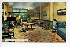 Occidental Hotel Reception Room ANTIQUE LOS ANGELES Rare Interior Rocking Chairs