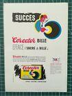 008 Publicite Ancienne   Pub Advert 1960 24X17cm Corector Bille Effaceur Encre