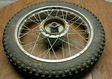 1975 75 yamaha dt125 dt 125 rear wheel rim hub #2 (NICE)