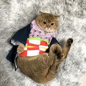 Demon Slayer: Kimetsu no Yaiba Anime Cosplay Clothes Costume for Pets Dog Cat