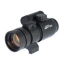 Hawke HK3190 1x30 sport red dot scope avec 9-11 mm et Weaver Rail Mounts