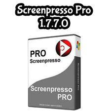 Screen Recording | Screenpresso Pro 1.7.7.0 | Activation Key