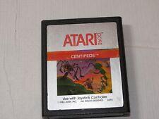 Centipede 1982 Atari vintage video cartridge 2600 Silver Label game Rare Vtg