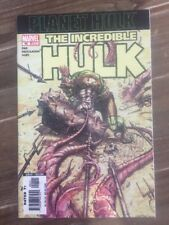 Incredible Hulk 92 Variant Planet Hulk Ragnarok Marvel Comics