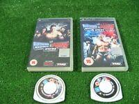 2 x SONY PSP GAMES 'SMACKDOWN vs RAW 2010 & 2011' **PSP