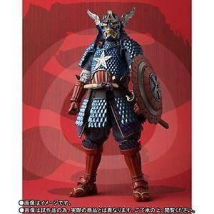 Premium Bandai Meisho REALIZATION Samurai Captain America Action Figure Marvel