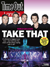 Time Out London Magazine, Take That, Robbie Williams Caitlin Moran NEW