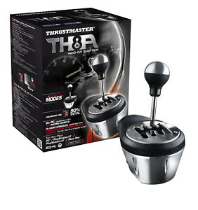 Thrustmaster TH8A Shifter work on all Simulator is designed for professionals