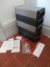 LOT 5 MEDIA BOX POSSO (boites de rangement empilables) cassettes audio ou autres