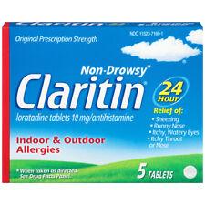 Claritin - 24 Heure Allergie 10 MG / Antihistaminique Comprimés sans Somnolence