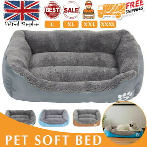 Dog Beds Pet Cushion House Waterproof Soft Warm Bed Kennel Blanket Extra Large