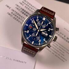 IWC Pilot Chronograph Petit Prince Blue Dial IW377714 - Full Set 2017 43mm