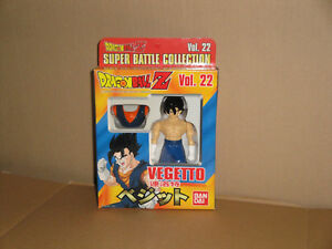 VEGETTO DRAGON BALL Z ACTION FIGURE SUPER BATTLE COLLECTION #22 BY BANDAI NEW