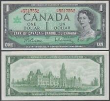 Canada - Queen Elizabeth II, 1 Dollar, 1867 - 1967 Commemorative, UNC, P-84(b)