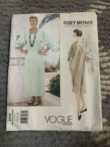 Vintage Vogue Issey Miyake 2315 Dress Pattern size Medium (12, 14) Uncut!!