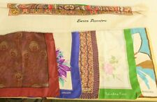 Collection of Scarves 5 Silk Liberty/Jaeger/others One Linen (Hospiscare)