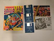 AMIGA DISK RARE BIG BOX Game * RAVING MAD - RODLAND - ROBOCOD - MEGA TWINS *