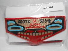 KOOTZ LODGE 523 RED BORDER FLAP BLACK FDL F7261