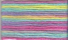 Anchor mouliné, fil à broder 6 fils 8 m 100% coton multicolore 1335