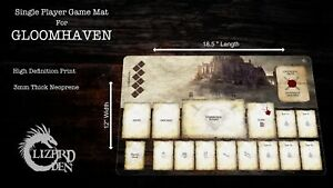 Custom made game mat compatible with Gloomhaven board game
