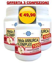 3 confezioni MELA ANNURCA COMPLEX 1000 integratore - COLESTEROLO - CAPELLI