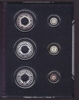 1988 1989 1990 HOLEY DOLLAR & DUMP Silver Coin Set Collection in Display Book