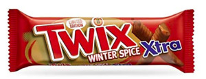 Twix Xtra Winter Spice 21 x 75g Bar Best Before 04/04/2021 OUT OF DATE