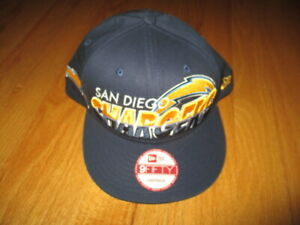 New Era 9FIFTY SAN DIEGO CHARGERS (Adjustable Snap Back) Cap