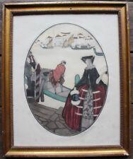 "Sylvain SAUVAGE ""Venise"" Rare eau-forte originale 1926 signée & numérotée Haasen"