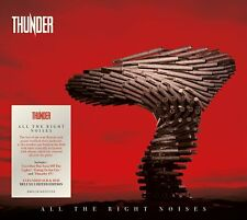 More details for thunder all the right noises deluxe 2 cd + dvd (released 24/09/2021) in stock