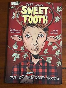 SWEET TOOTH VOLUME 1: OUT OF THE DEEP WOODS Trade Paper Back TPB- Netflix-Lemire