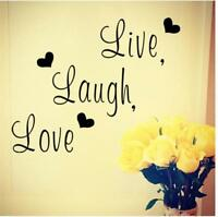 Hotsell Wall Quote Live Laugh Love Wall Sticker Vinyl Wall Art Home Art  Decal S Part 79