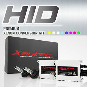 HID KIT Diamond White Blue Xenon 2 Replacement Bulbs Headlight Fog Light Ballast