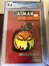 Batman: The Long Halloween #1 CGC 9.6 Jeff Loeb and Tim Sale