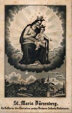 St. Maria Dürrnberg Wallfahrt Heiligenbild Kupferstich 5400 Österreich (O-6993