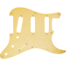 Fender Gold Anodized 57 Stratocaster Pickguard 8 Hole Strat 0992143000