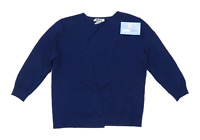 DKNY Womens Size S Blue Cardigan (Regular)