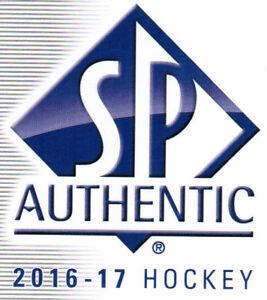 16/17 SP AUTHENTIC HOCKEY 2016-17 BASE TEAM SETS (ANA-WIN) U-Pick Team From List