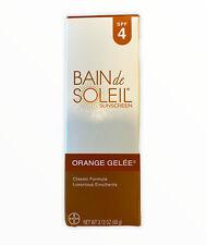 Bain De Soleil 77093 Orange Gelee Spf 4 Sunscreen 3.12 oz