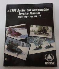 1992 ARCTIC CAT SUPER JAG AFS L/T SERVICE MANUAL OEM