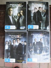 Person of Interest - Seasons 1 2 3 4 DVD (24 discs) Set Collection - VGC